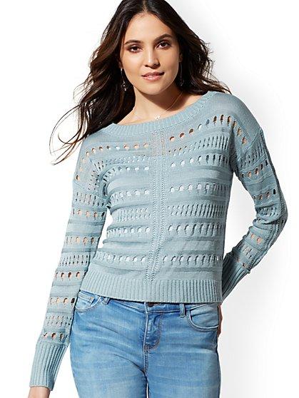 4e57512dda Open-Stitch Sweater - New York   Company ...