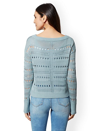 ... Open-Stitch Sweater - New York   Company ... ad7d1749e
