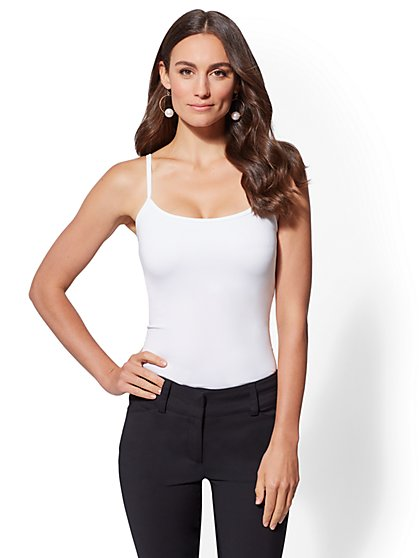 Original Body Shaper Stretch Camisole - Solid - New York & Company