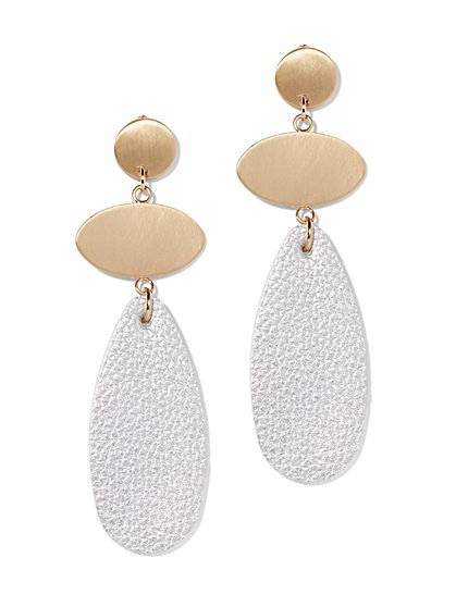 Oval Statement Drop Earring - New York & Company
