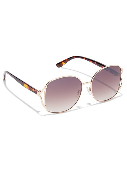Oversized Boxy Sunglasses - New York & Company