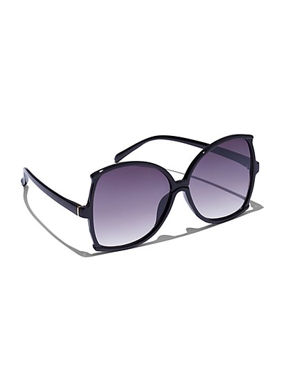 Oversized Butterfly Sunglasses - New York & Company