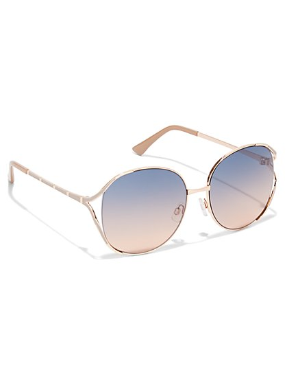 Oversized Pastel Sunglasses - New York & Company