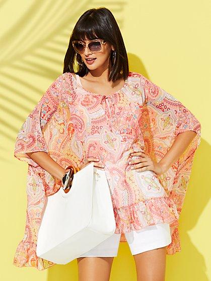 83e677313243 Women's Ponchos, Cover-Ups, Wraps & Shawls | NY&C
