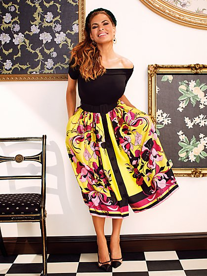 Passiflora Skirt - Eva Mendes Collection - New York & Company