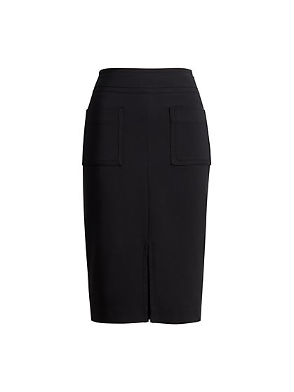Patch Pocket Skirt - New York & Company
