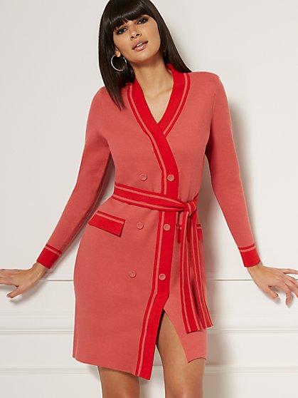 Peggy Sweater Sheath Dress - Eva Mendes Collection - New York & Company