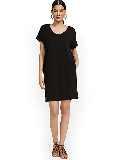 Perfect Tee Dress - New York & Company