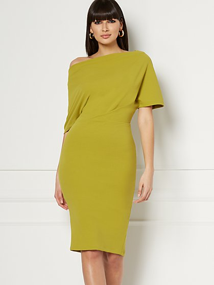 Petite Adeline Sweater Sheath Dress - Eva Mendes Collection - New York & Company