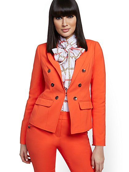 Petite All-Season Stretch Sutton Jacket - 7th Avenue - New York & Company