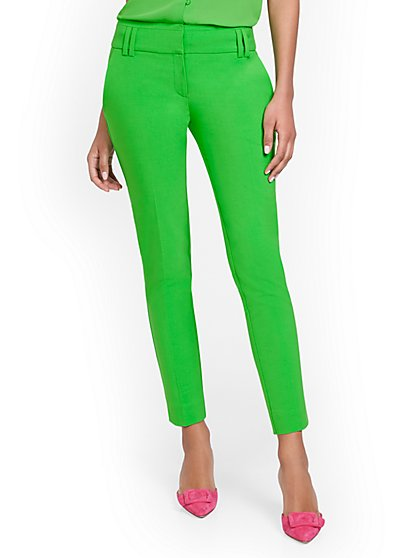 Petite Ankle Pant - Modern Fit - Double Stretch - 7th Avenue - New York & Company