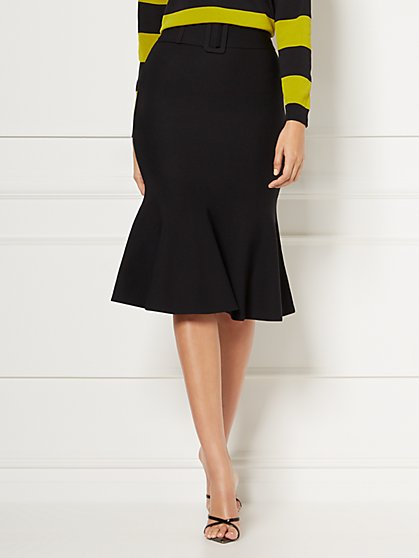 Petite Ariana Black Sweater Pencil Skirt - Eva Mendes Collection - New York & Company
