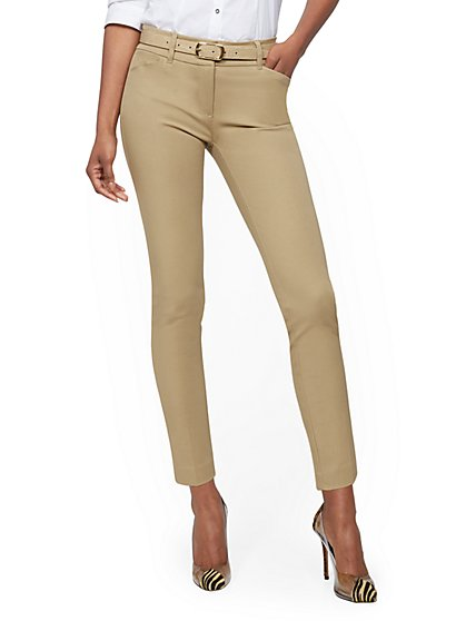 Petite Audrey Ankle Pant - Solid - New York & Company