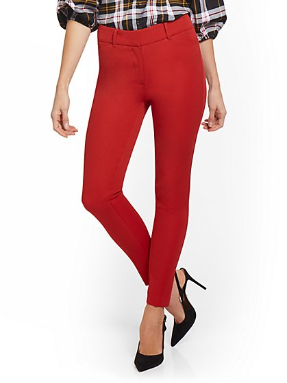 Petite Audrey High-Waisted Ankle Pant - New York & Company