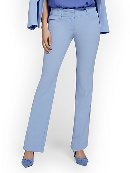 Petite Barely Bootcut Pant - Mid-Rise - Double Stretch - New York & Company