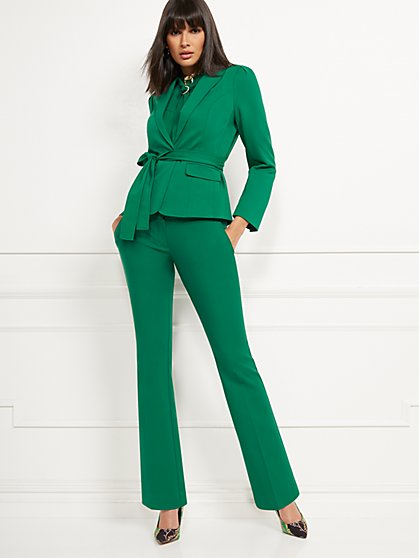 Petite Barely Bootcut Pant - Modern - All-Season Stretch - 7th Avenue - New York & Company