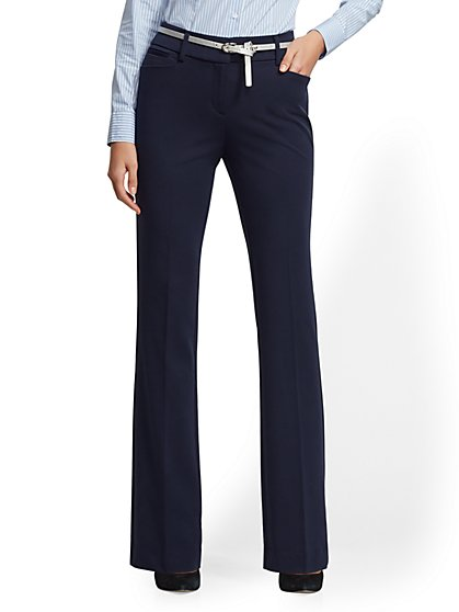 Petite Bootcut Pant - Mid Rise - SuperStretch - 7th Avenue - New York & Company