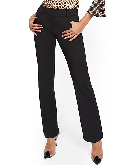 Petite Bootcut Pant - Signature - All-Season Stretch - 7th Avenue - New York & Company