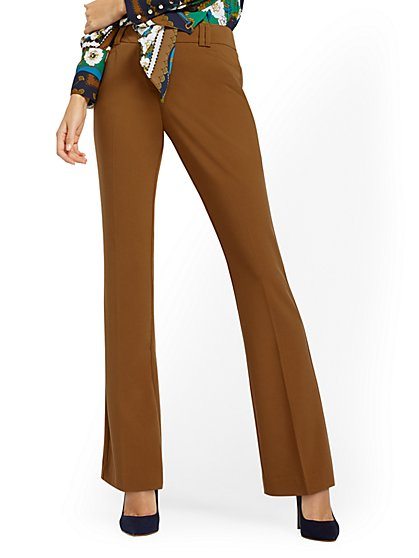 Petite Bootcut Pant - Signature Fit - Double Stretch - 7th Avenue - New York & Company
