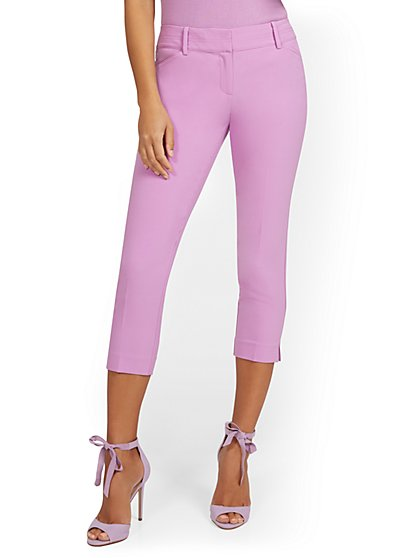 Petite Capri Pant - Double Stretch - 7th Avenue - New York & Company