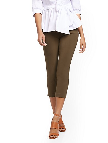 Petite Capri Pant – Double Stretch - 7th Avenue - New York & Company