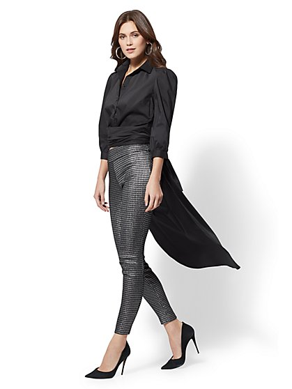 Petite Convertible Wrap Top - New York & Company
