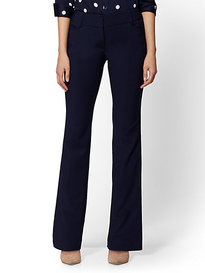 Petite Curvy Bootcut Pant - All-Season Stretch - 7th Avenue - New York & Company