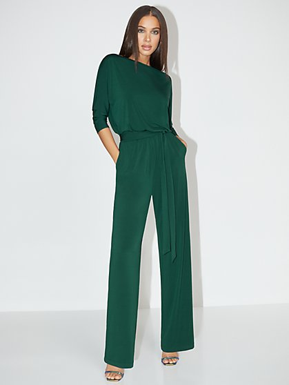 Petite Dolman-Sleeve Jumpsuit - NY&C Style System - New York & Company