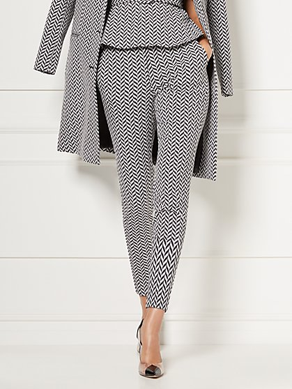 Petite Elise Jacquard Pant - Eva Mendes Collection - New York & Company