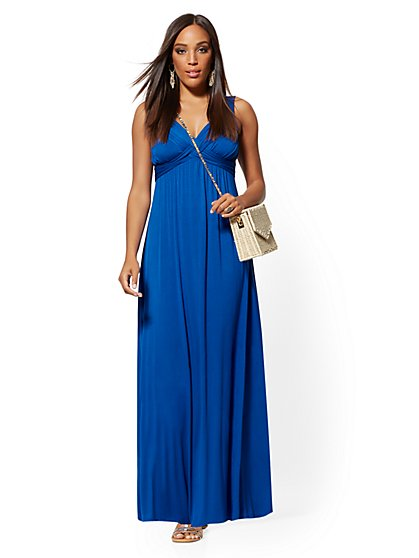 Petite Goddess Maxi Dress - Soho Street - New York & Company