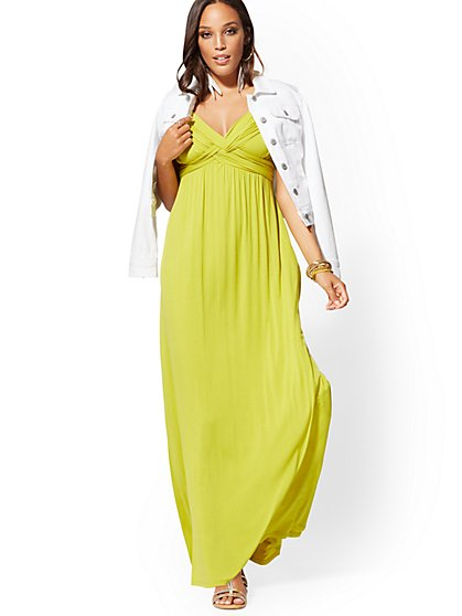 c121dab17a4 Petite Goddess Maxi Dress - Soho Street - New York   Company ...
