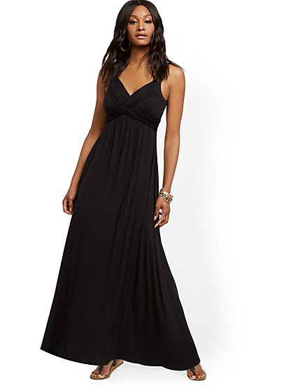 "Petite ""Goddess"" Maxi Dress - New York & Company"