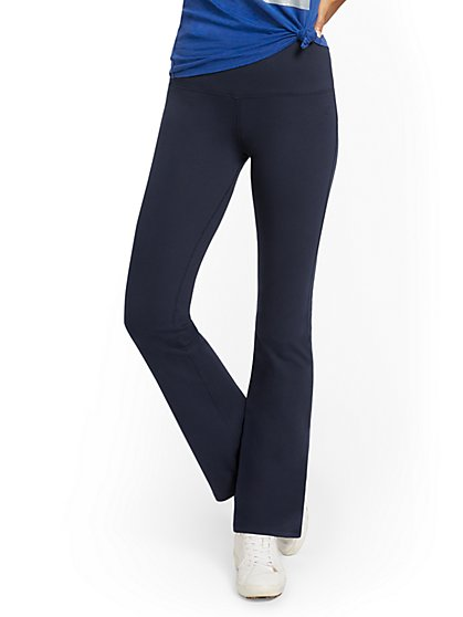 Petite High-Waisted Bootcut Yoga Pant - New York & Company