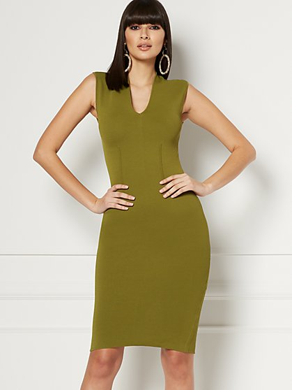 Petite Lucienne Shaping Dress - Eva Mendes Collection - New York & Company