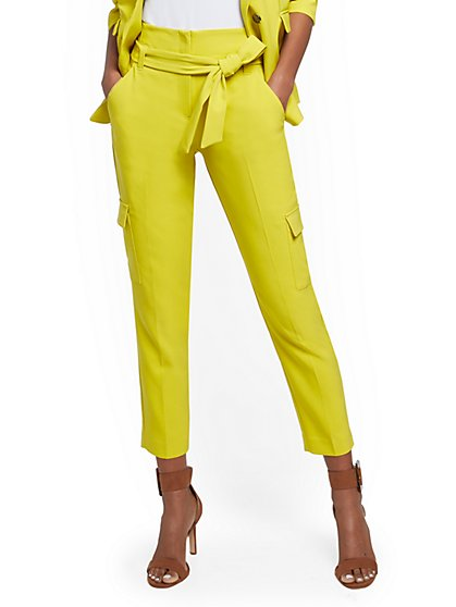 Petite Madie Cargo Pant - 7th Avenue - New York & Company