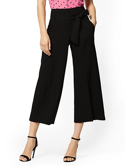 Petite Madie Crop Pant - 7th Avenue - New York & Company