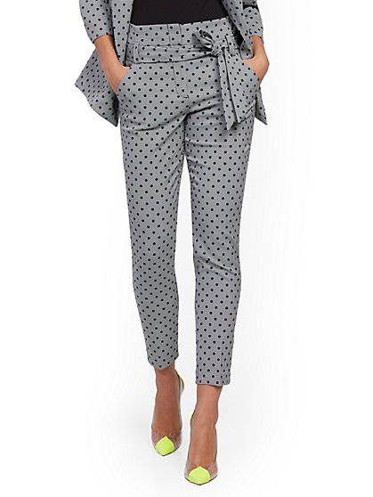 Petite Madie Pant - Mixed Print - 7th Avenue - New York & Company