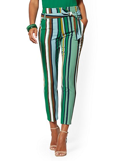 Petite Madie Pant - Stripe - 7th Avenue - New York & Company