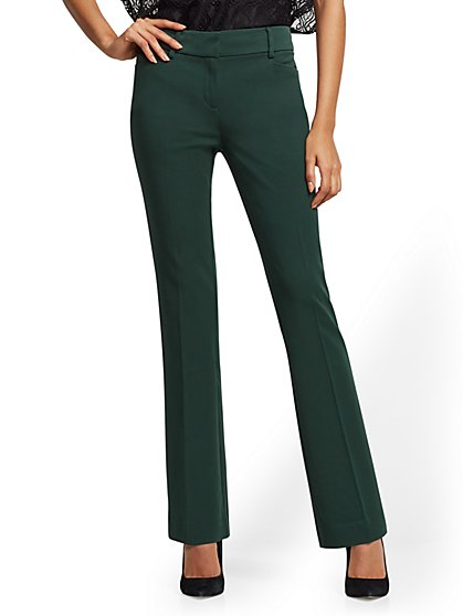 Petite Mid Rise Bootcut Pant - Modern - SuperStretch - 7th Avenue - New York & Company