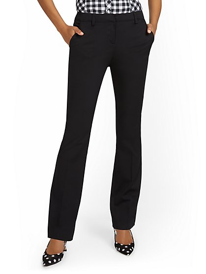 Petite Mid-Rise Bootcut Pant - New York & Company
