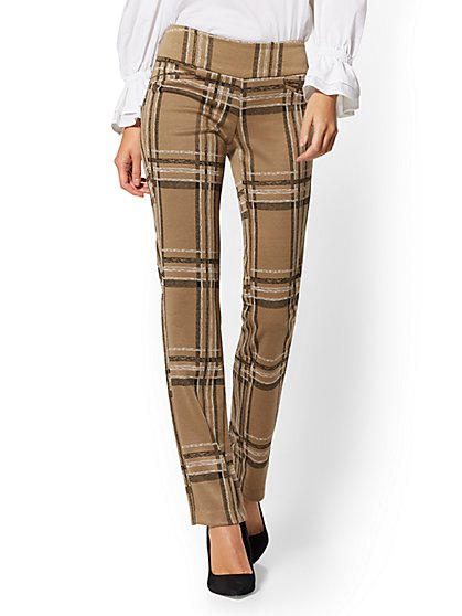 Petite Ponte Pull-On Pant - Signature - 7th Avenue - New York & Company