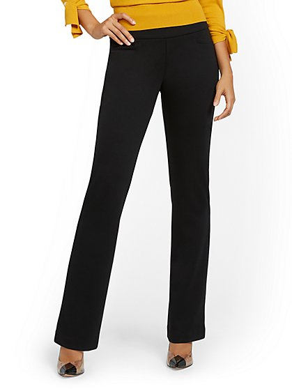 Petite Pull-On Bootcut Ponte Pant - Superflex - New York & Company