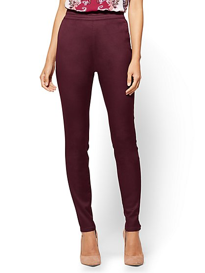 Petite Pull-On High-Waist Legging - New York & Company