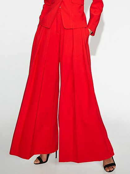 Petite Red Wide-Leg Pant - Gabrielle Union Collection - New York & Company