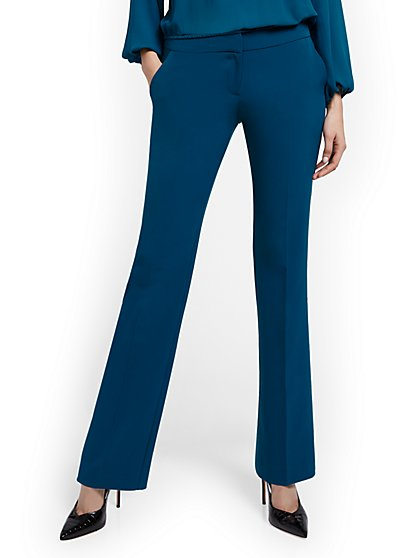 Petite Straight-Leg Pant - Double Stretch - New York & Company