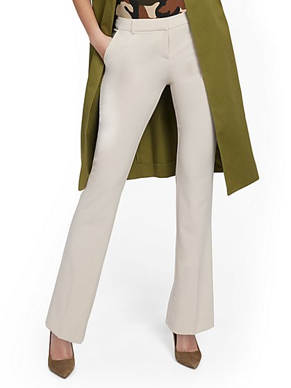 Petite Straight-Leg Pant - Modern - 7th Avenue - New York & Company