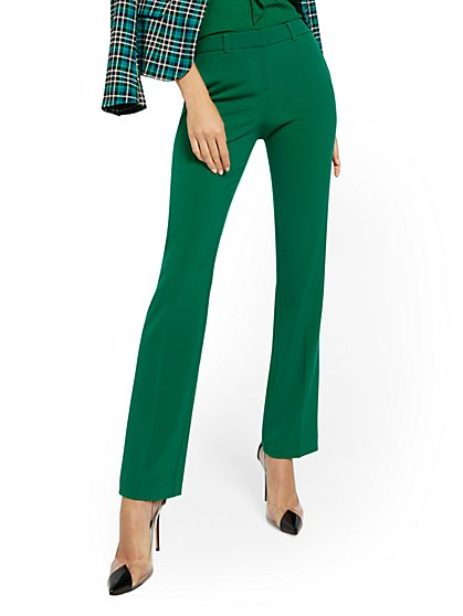 Petite Straight-Leg Pant - Modern - Double Stretch - 7th Avenue - New York & Company