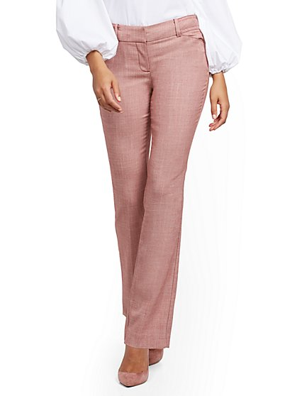 Petite Straight-Leg Pant - Signature Fit - 7th Avenue - New York & Company