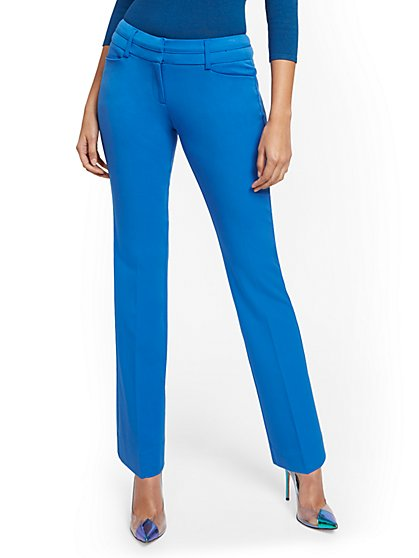 Petite Straight-Leg Pant - Signature Fit - Superstretch - 7th Avenue - New York & Company