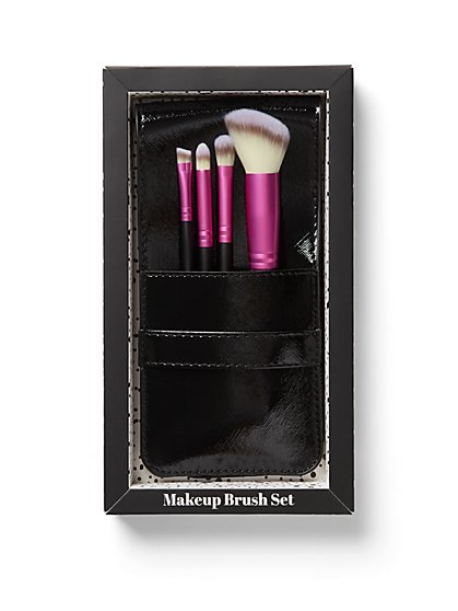 Pink 4-Piece Brush Set - New York & Company